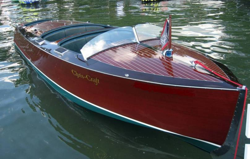 Plans to build a chris craft boat