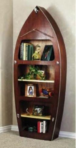 Wooden Boat Bookshelf Plans