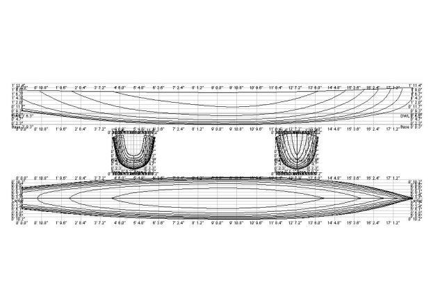 DIY Canoe Plans Blueprints Wooden PDF campaign lap desk