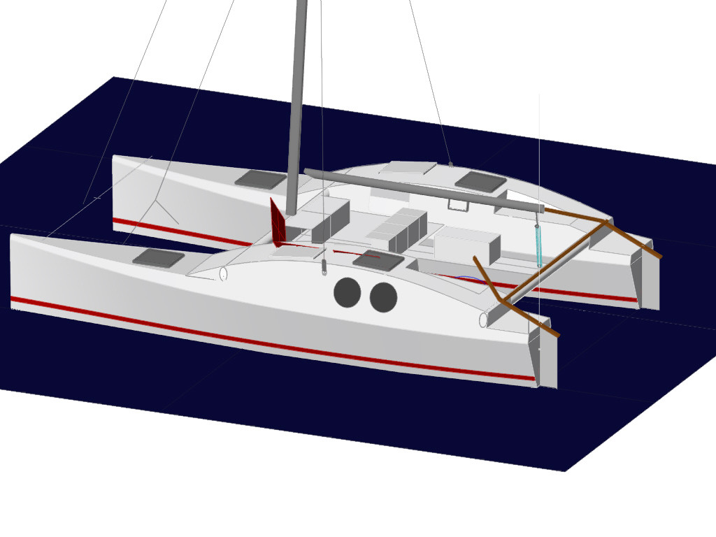 DIY Diy Catamaran Plans PDF Download Wood Workshop Design