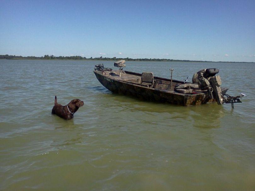 Homemade Duck Boat Blinds 19