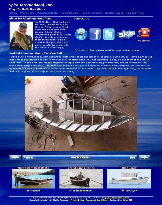 Free Boat Plans Alaminum How To DIY Download PDF Blueprint UK US CA