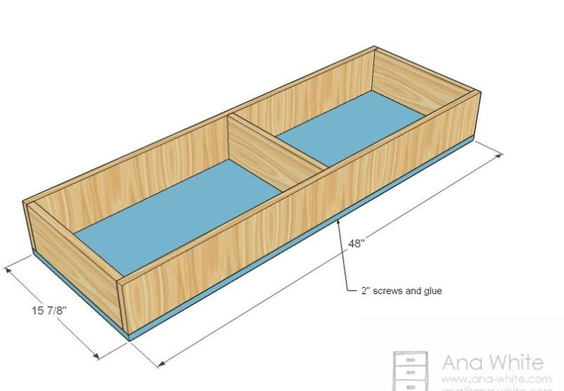 free wood box plan