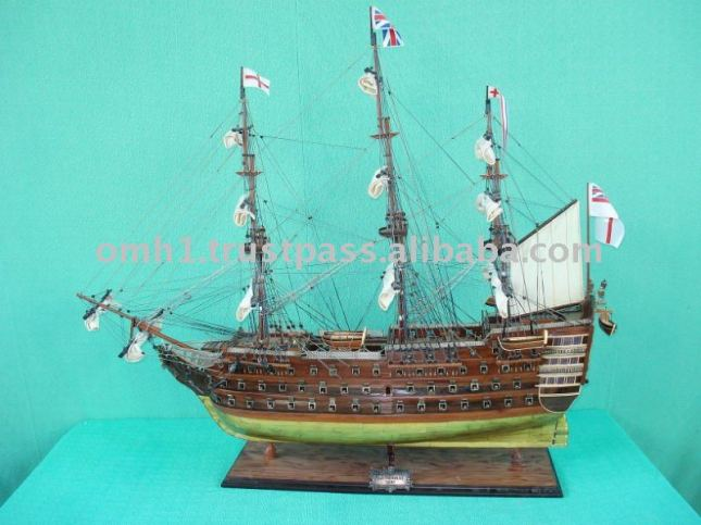 Free Scratch Build Tall Ship Model Plans How To DIY Download PDF ...