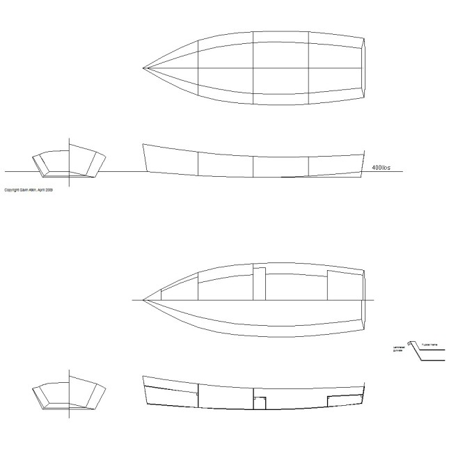 Diy small wood boat page 10 for Boat house blueprints