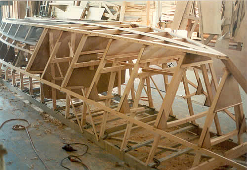 Free Wooden Canoe Building