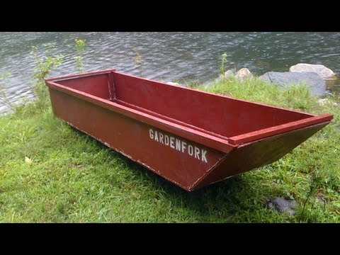 как сделать лодку из осп