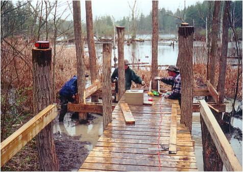 Found easy boat blind plans feey for Duck slide plans