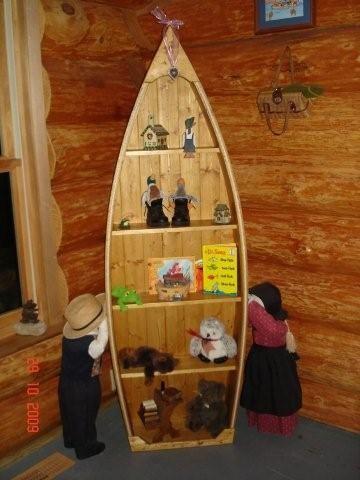 canoe bookcase plans