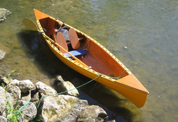 Making A Model Canoe Boat Out Of Wood