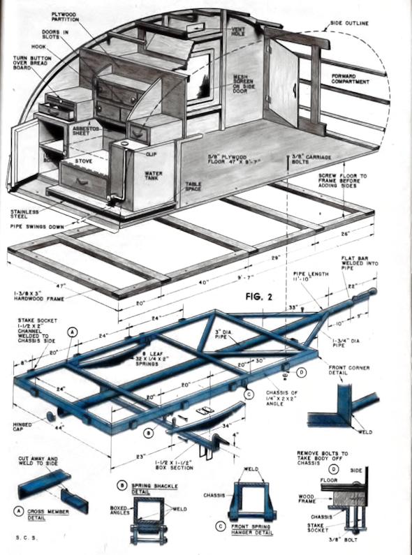 PDF 6×10 teardrop trailer plans pdf DIY Free Plans Download 24×24 Cabin Floor Plans | kirsten560