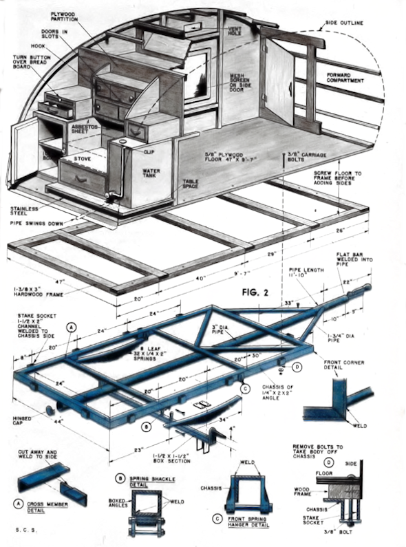 Mechanix Illustrated Plans How To DIY Download PDF ...