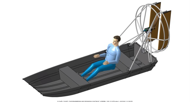 Topic Plans to build a airboat | TuGBS