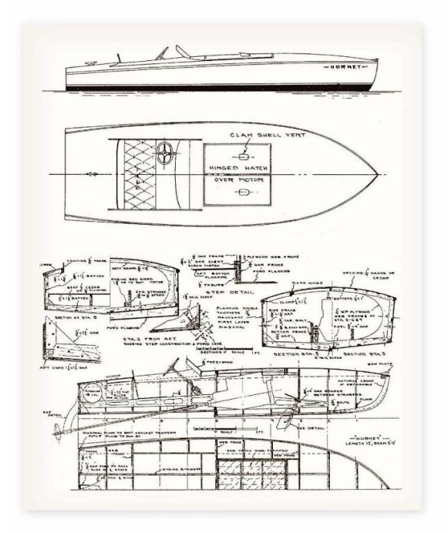 Wooden Boat Building Plans