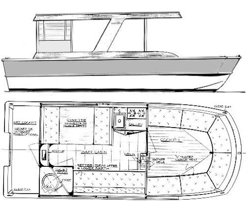 Pontoon Boats Plans How To DIY Download PDF Blueprint UK US CA ...