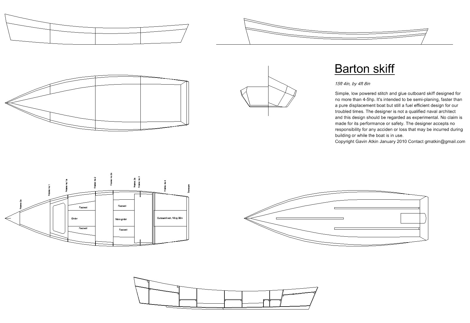 free boat designs and plans