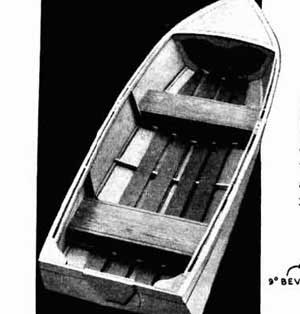 rc table boat plans