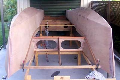 Diy Build A Cruising Catamaran Wooden Pdf Living Room
