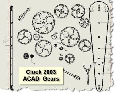 wooden gear clock plans free