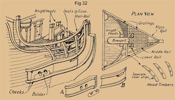 wooden ship modelblue prints
